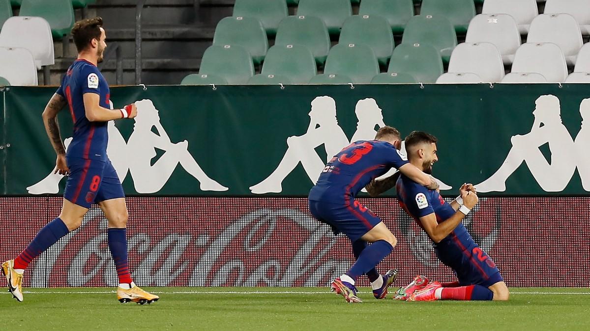 LIga Santander 2020-2021   Betis – Atlético, en directo. (AFP)