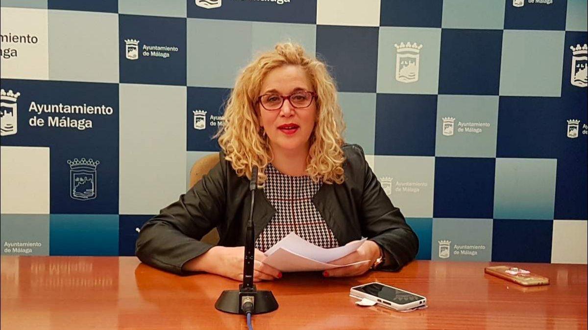 Remedios Ramos, concejal portavoz de Adelante Málaga.