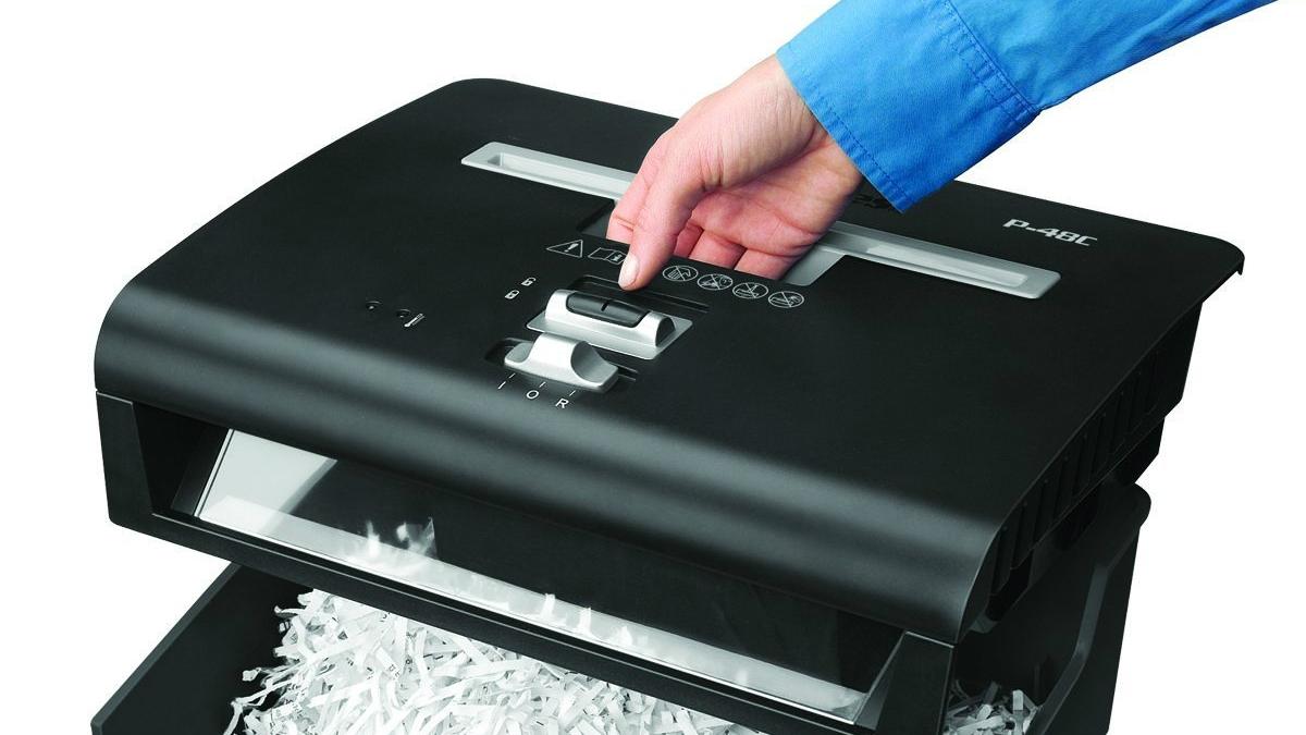 La trituradora es muy útil para destruir documentos confidenciales