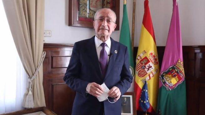 El alcalde de Málaga pide seguir «esforzándonos» con las medidas Covid