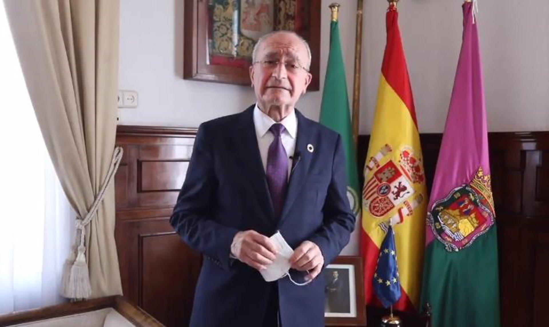 Francisco de la Torre (PP), alcade de Málaga.