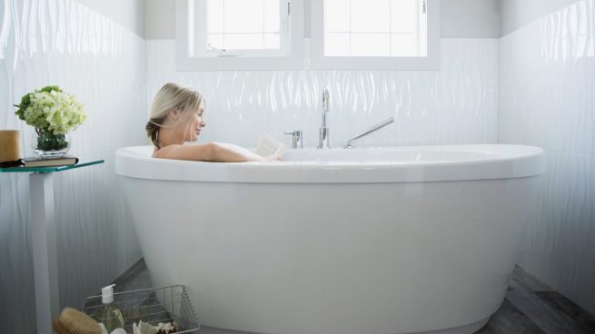 gel de baño casero