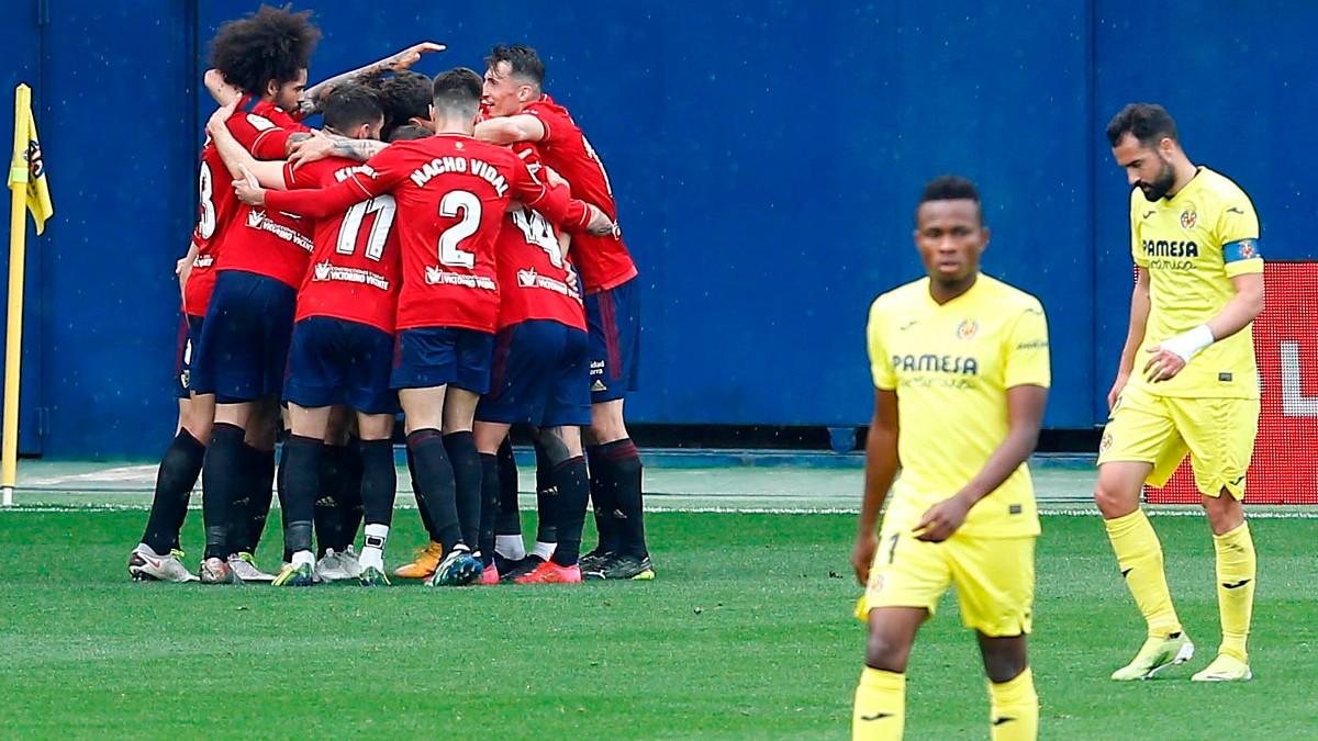 Osasuna venció al Villarreal en La Cerámica. (EFE)