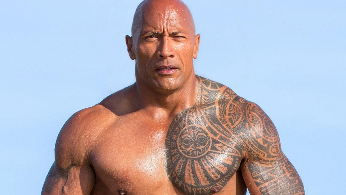 Dwayne Johnson en 'Los vigilantes de la playa' (Paramount Pictures)