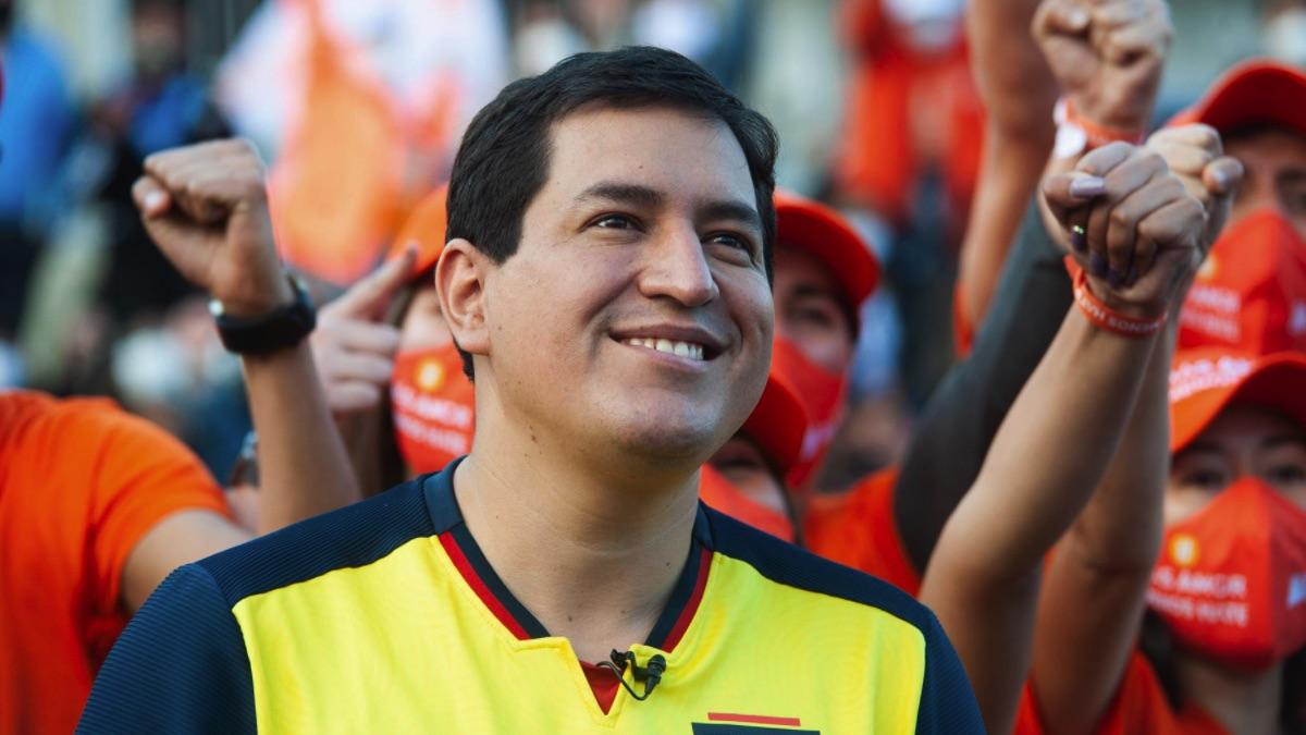 El candidato correísta Andrés Arauz. (Foto: Europa Press)