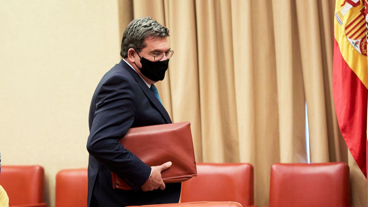 El ministro José Luis Escrivá en la Comisión del Pacto de Toledo (Foto: EP)