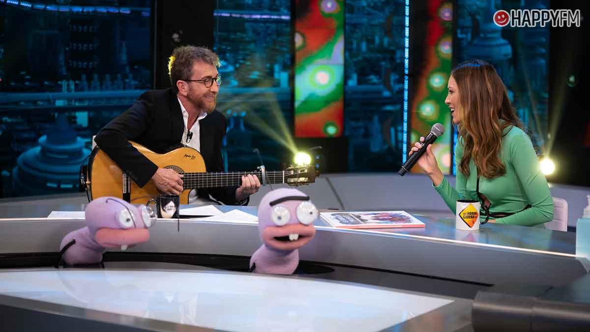 El Hormiguero: Helen Lindes se atreve a cantar en directo