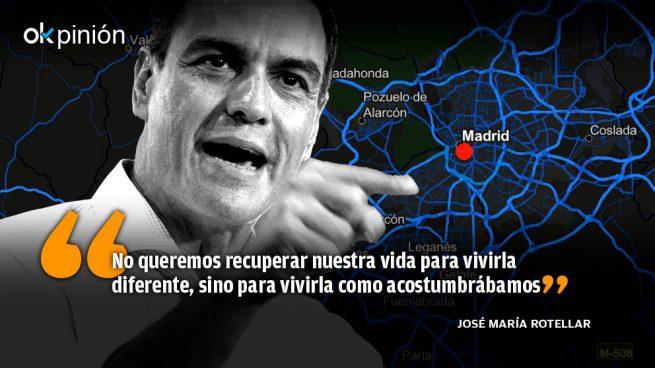 Sánchez ataca a Madrid para ocultar su gestión calamitosa