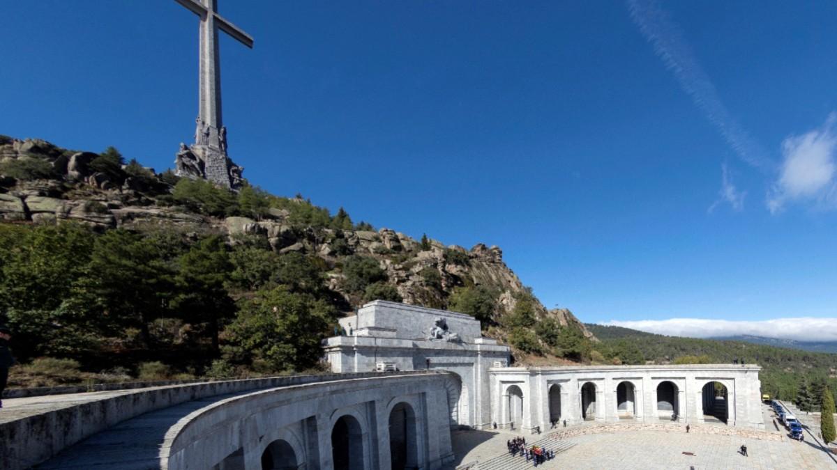 Imagen de archivo del Valle de los Caídos. (Foto: Europa Press)