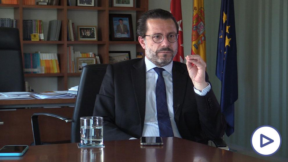 El consejero de Hacienda de la Comunidad de Madrid, Javier Fernández-Lasquetty.