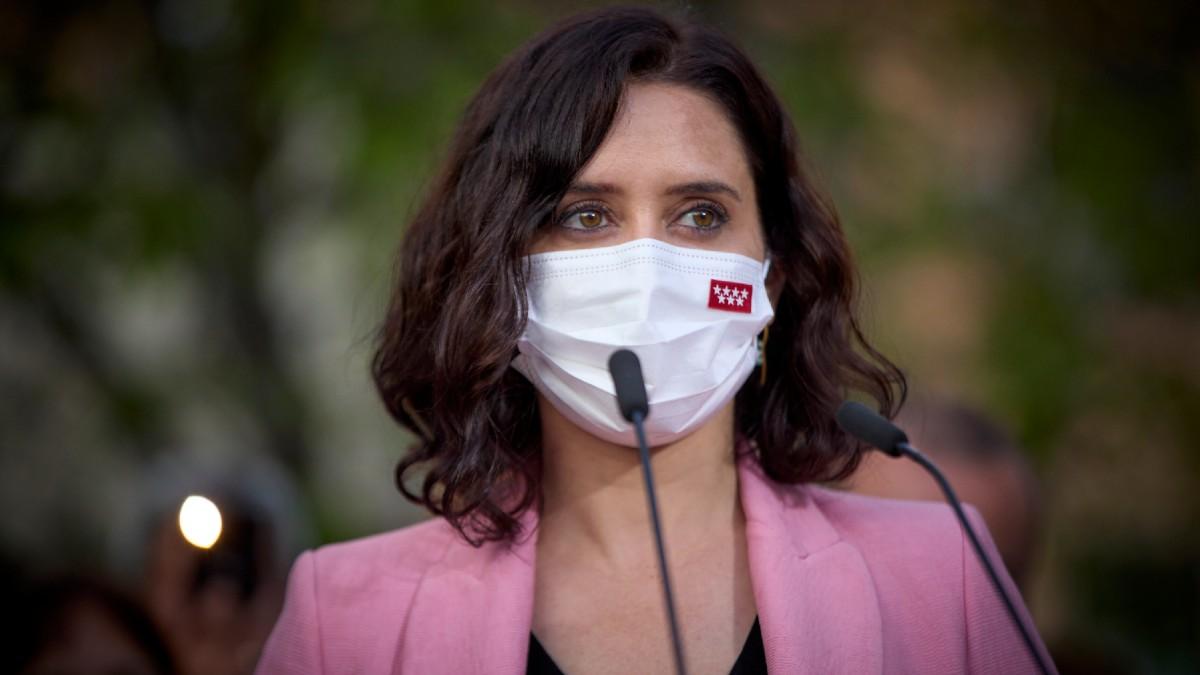 La presidenta de la Comunidad de Madrid y candidata a la reelección, Isabel Díaz Ayuso. (Foto: Europa Press)