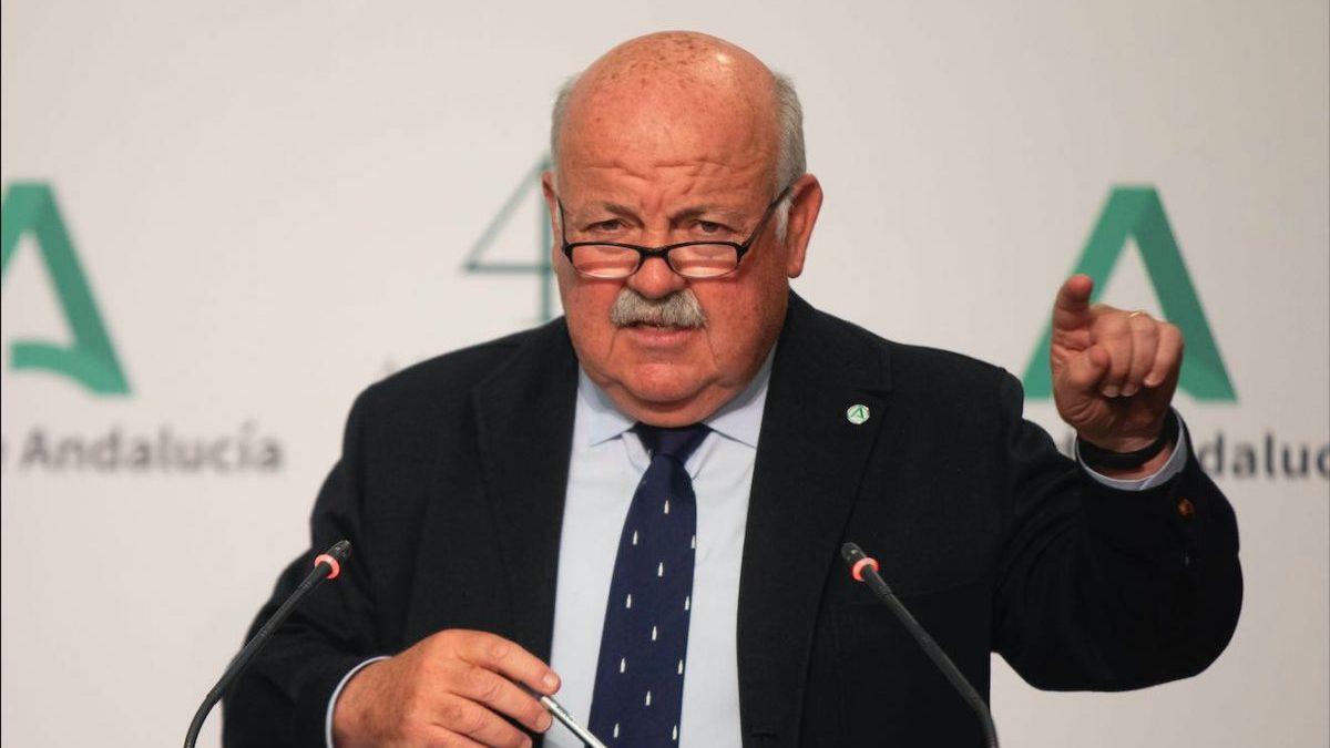 Jesús Aguirre, consejero de Salud y Familias de la Junta de Andalucía (María José López / Europa Press)