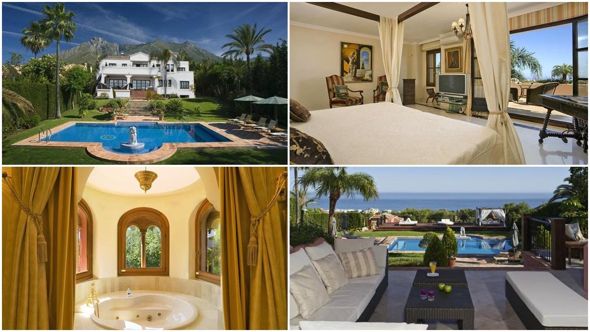 Así es la mansión de Djokovic en Marbella.