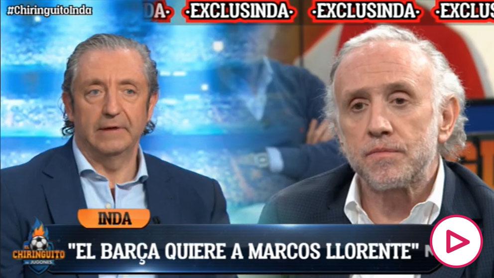 El Barça está interesado en Marcos Llorente