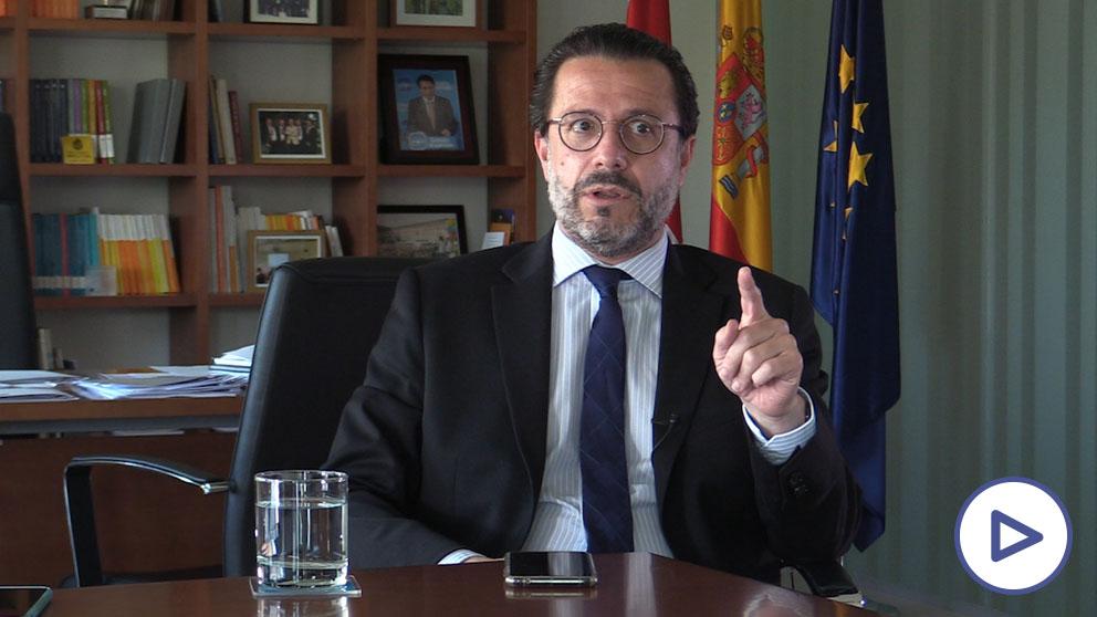 Fernández-Lasquetty, consejero de Hacienda de la Comunidad de Madrid.