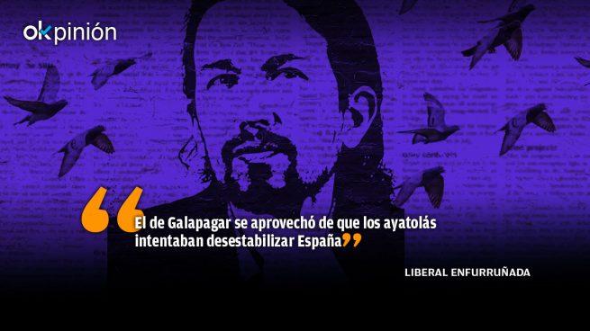 Pablo Iglesias rabia contra la prensa libre