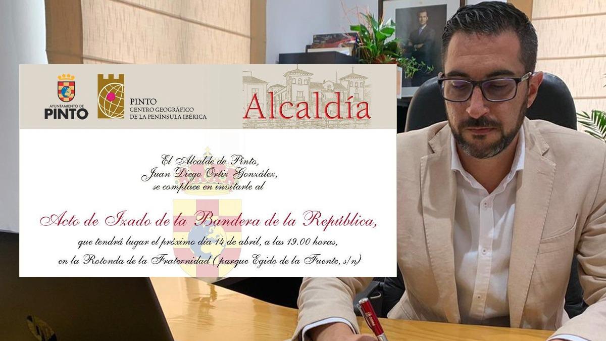 El alcalde de Pinto, Juan Diego Ortiz (PSOE).