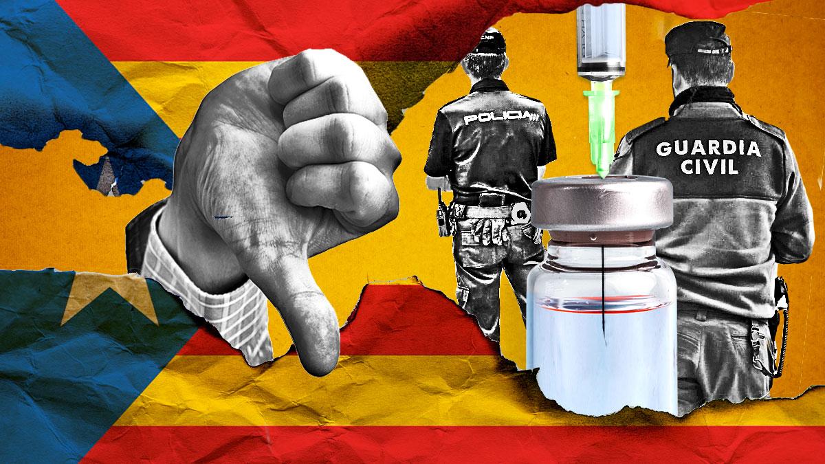 Hartos de pedir ser vacunados, los policías nacionales, a través de una de sus asociaciones, llevaron a la Generalitat ante Fiscalía.