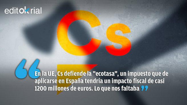 Ciudadanos se suma al hachazo fiscal de Pedro Sánchez