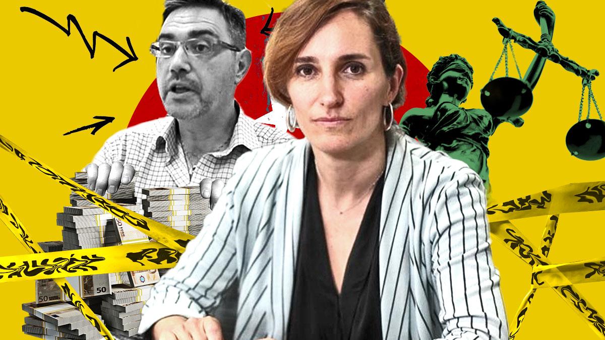 La candidata de Más Madrid, Mónica García, lleva un imputado por corrupción en las listas.