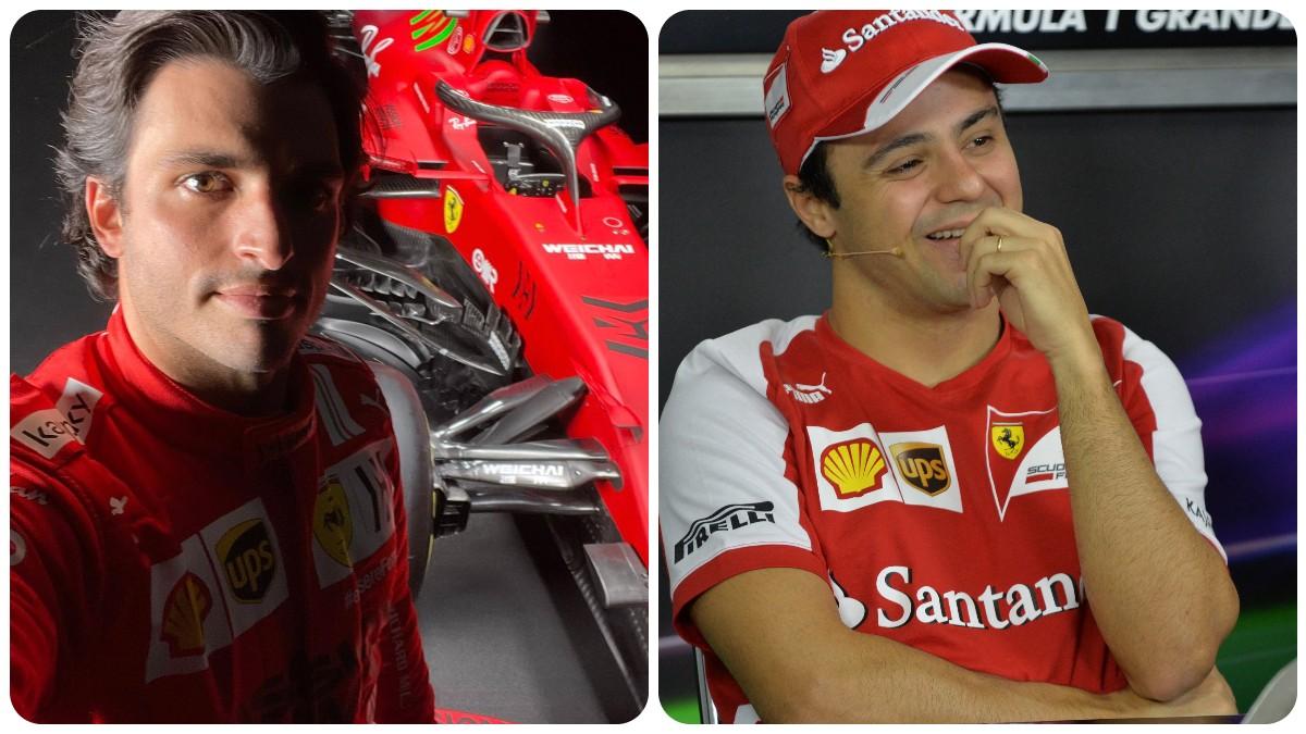 Carlos Sainz y Felipe Massa.