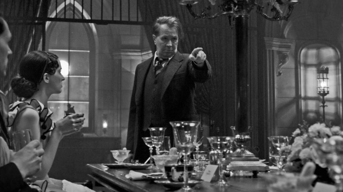 Fotograma de 'Mank', de David Fincher, nominada como mejor película a los Oscar 2021.