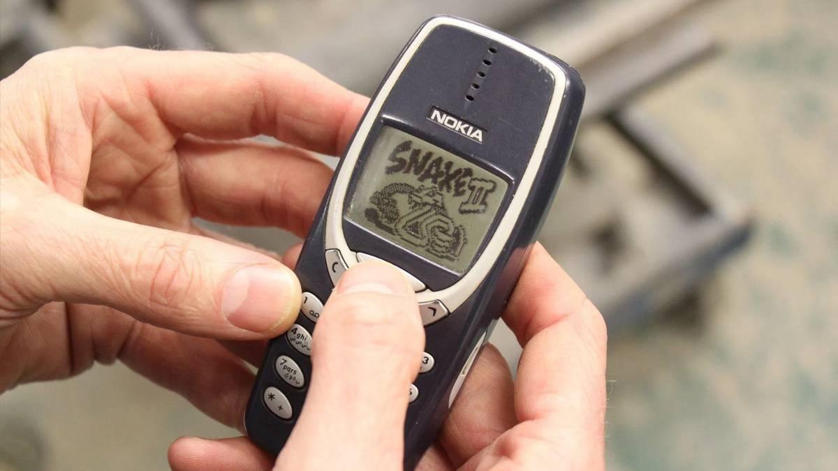 Nokia 3310, un clásico de los móviles de los 90