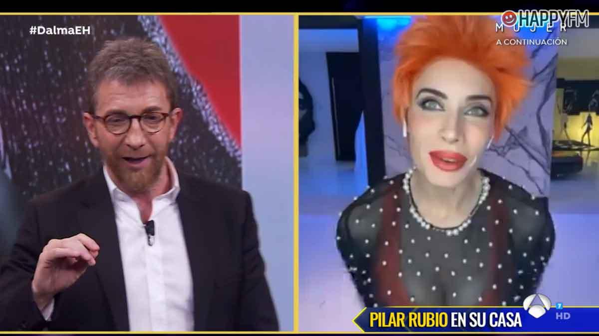 Pilar Rubio reaparece en 'El hormiguero': «Sergio está confinado en una habitación»
