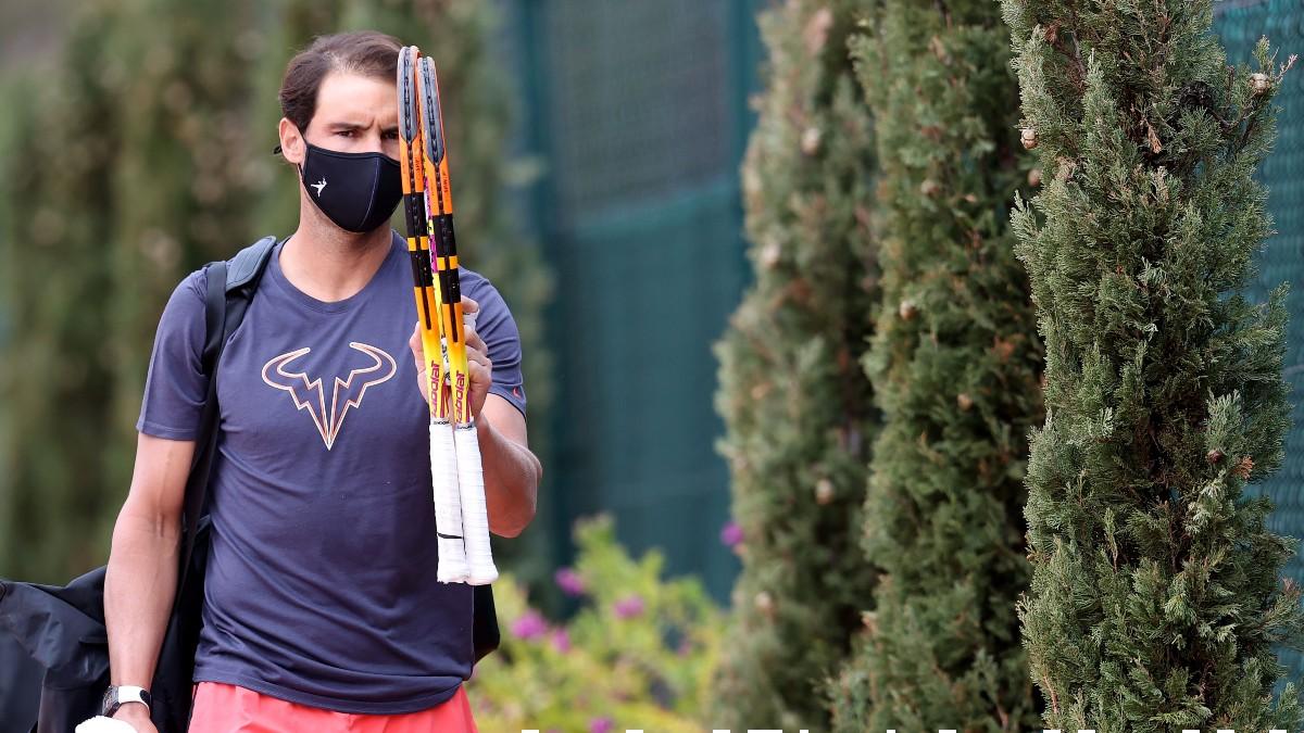 Rafael Nadal, en Montecarlo. (Getty)
