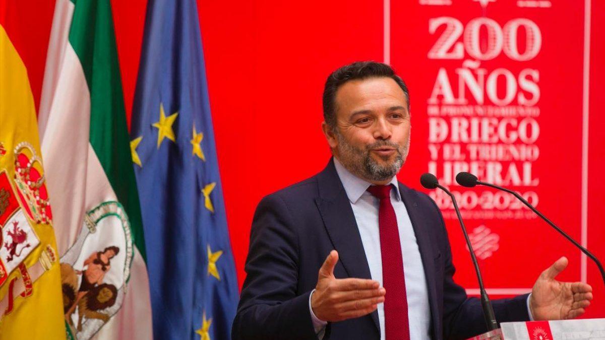Francisco José Toajas, alcalde de Las Cabezas de San Juan (María José López / Europa Press)