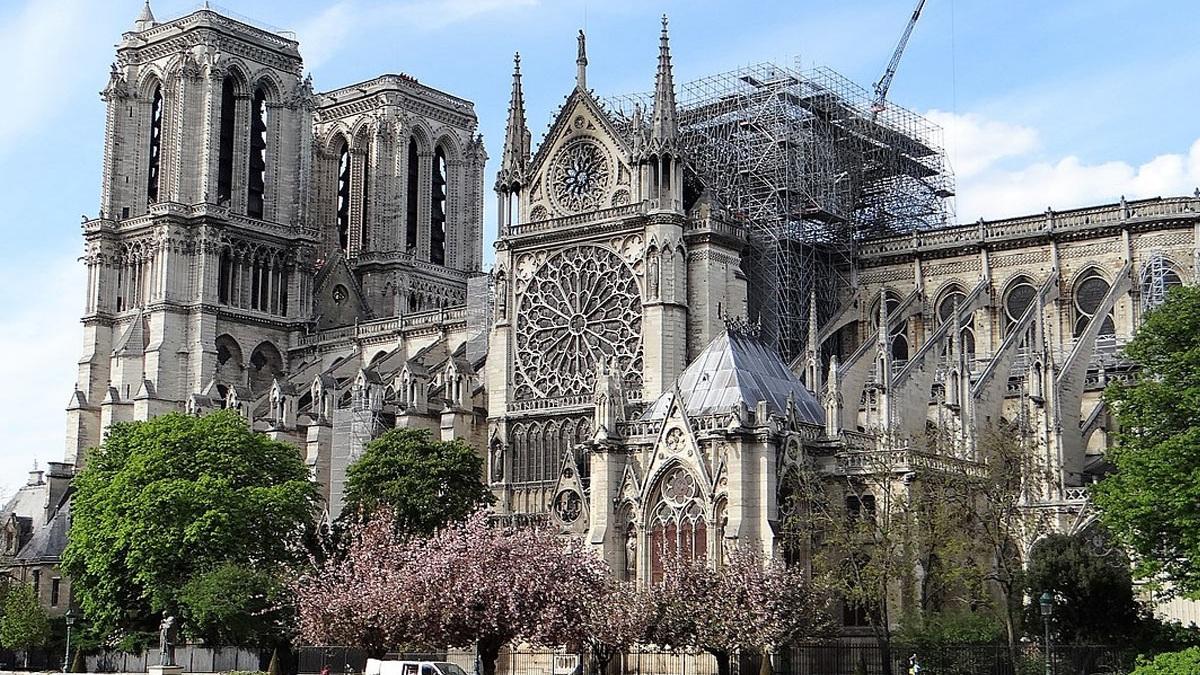 Hace dos años del incendio en la catedral de Notre Dame