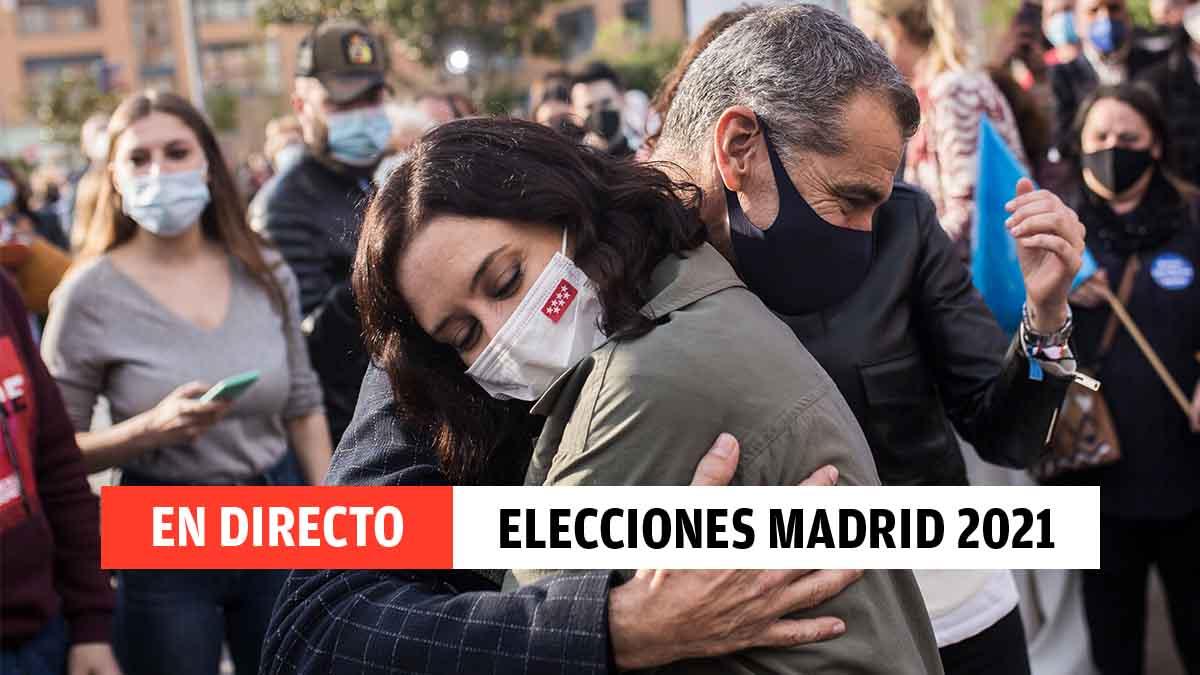 Directo sobre las elecciones en la Comunidad de Madrid del 4M