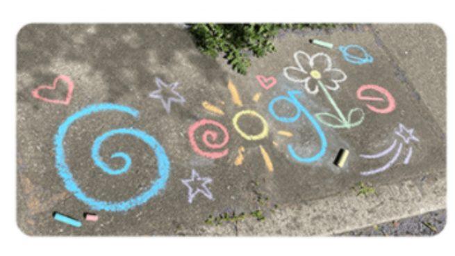 Google dedica su doodle de hoy al Día del Niño