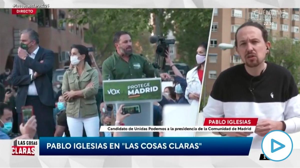 Pablo Iglesias en TVE. (Vídeo: 'Las cosas claras' de TVE).