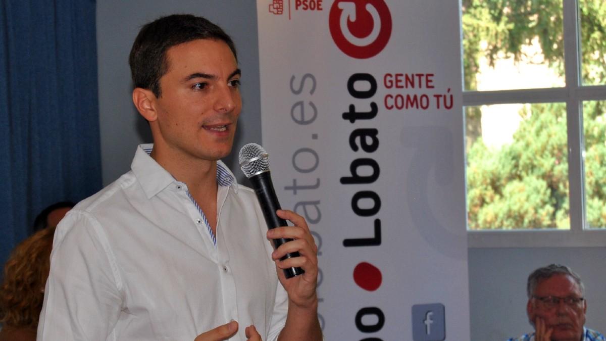 Juan Lobato, alcalde de Soto del Real, 'número cuatro' en la lista de Ángel Gabilondo para las elecciones de Madrid del 4-M. (Foto: Europa Press)