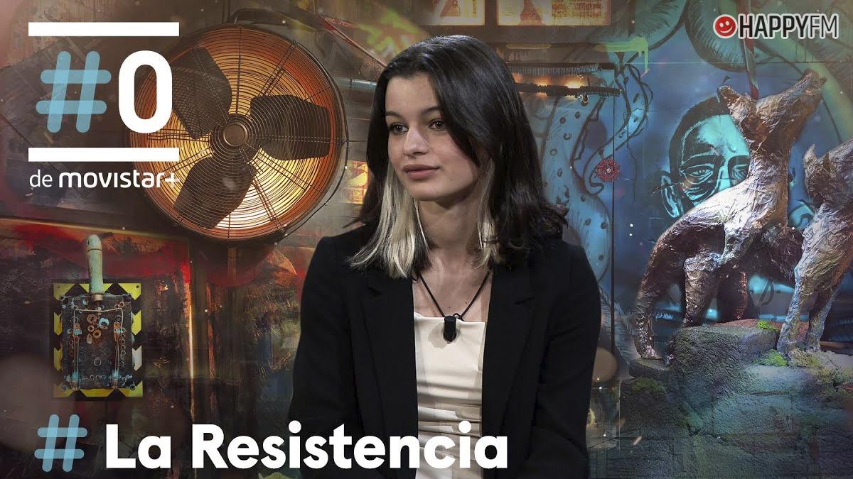 Sofía Oria en 'La Resistencia'