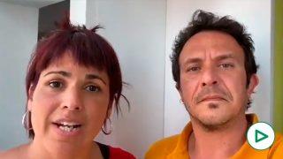 Teresa Rodríguez y Kichi atacan a la agricultura andaluza y piden feminismo, ecologismo y antirracismo.