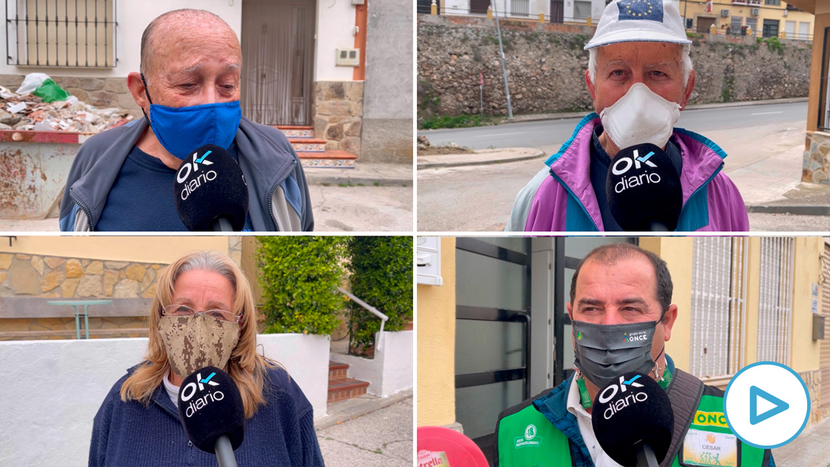Vecinos de Brea de Tajo muestran su apoyo a Ayuso.