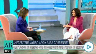 Isabel Díaz Ayuso impuesto
