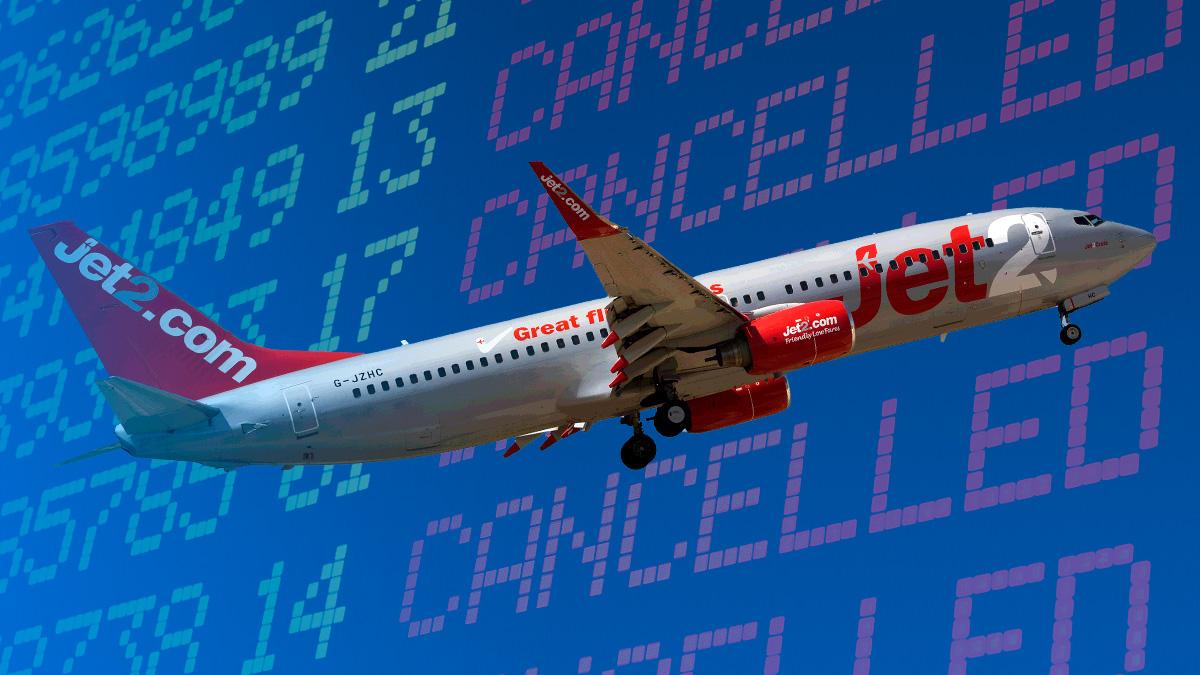 La cancelación de vuelos de Jet2 enciende las alarmas en el sector hotelero: 800.000 plazas en juego