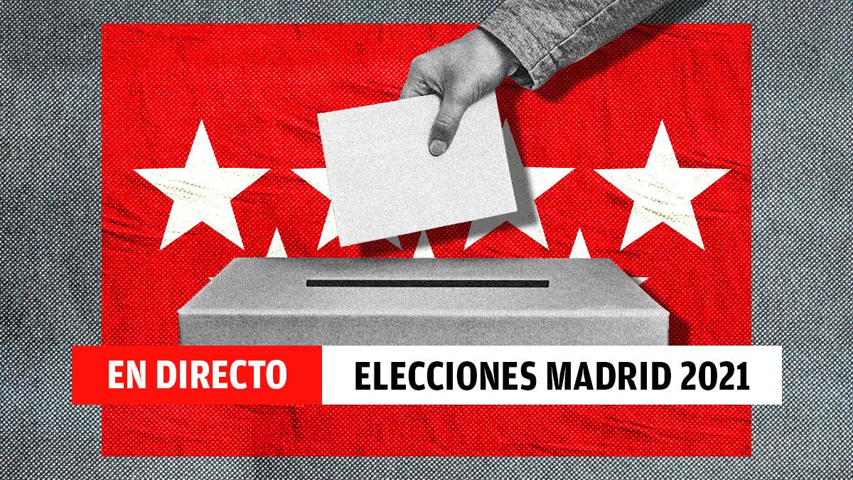 Directo sobre las elecciones en la Comunidad de Madrid 2021