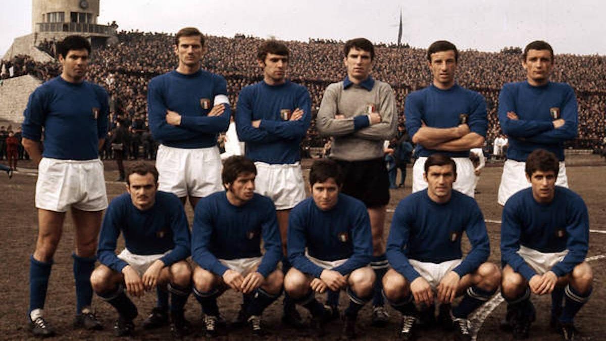 Selección Nacional de Italia en la Eurocopa del 68