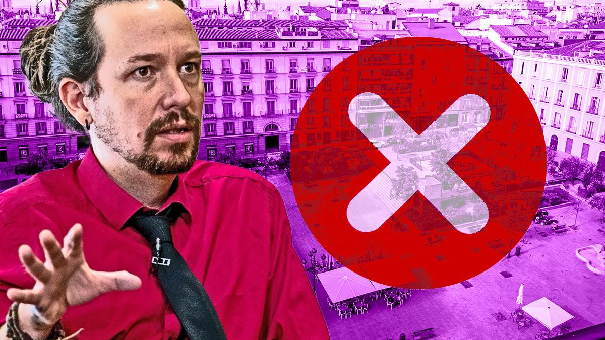 Pablo Iglesias y la plaza Pedro Zerolo.
