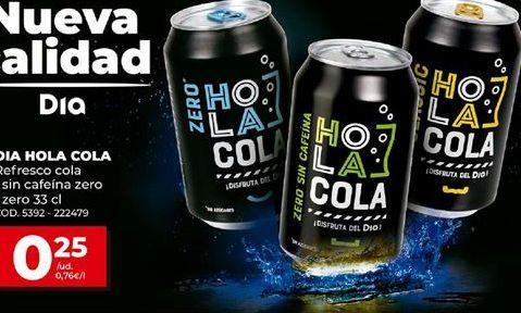 Hola Cola de supermercados DIA