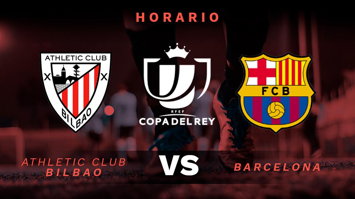 Athletic Club de Bilbao - FC Barcelona: Horario y dónde ...