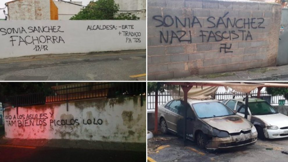 Brutal ataque y señalamiento a una concejal de Vox en Granada.