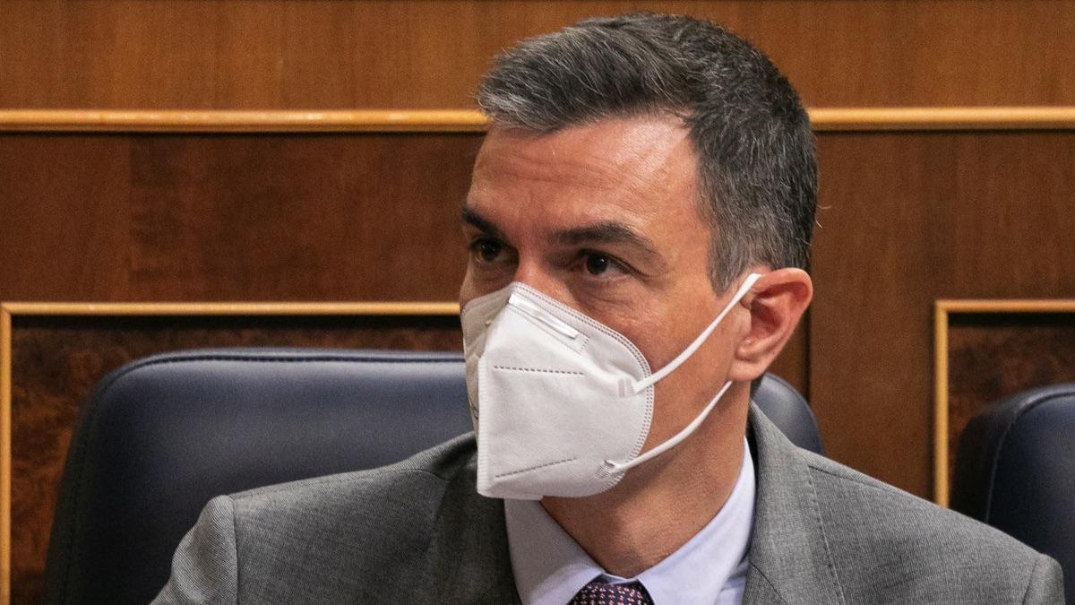 Pedro Sánchez en el Congreso. (Foto: PSOE)