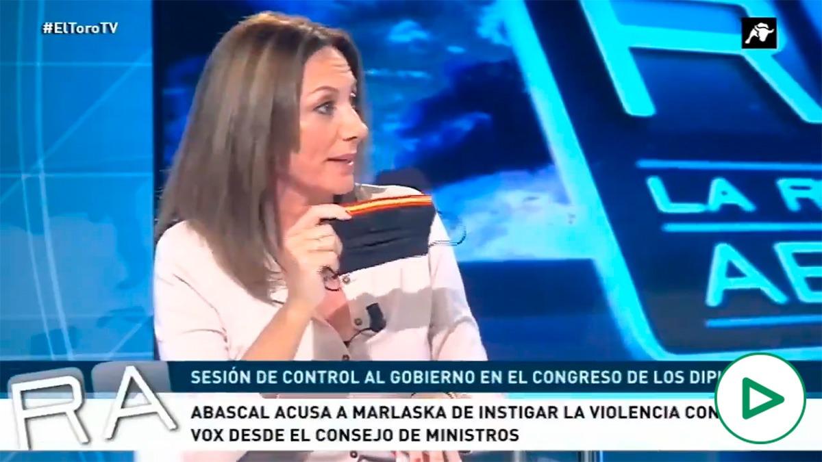 Reyes Romero (Vox), en El Toro TV.
