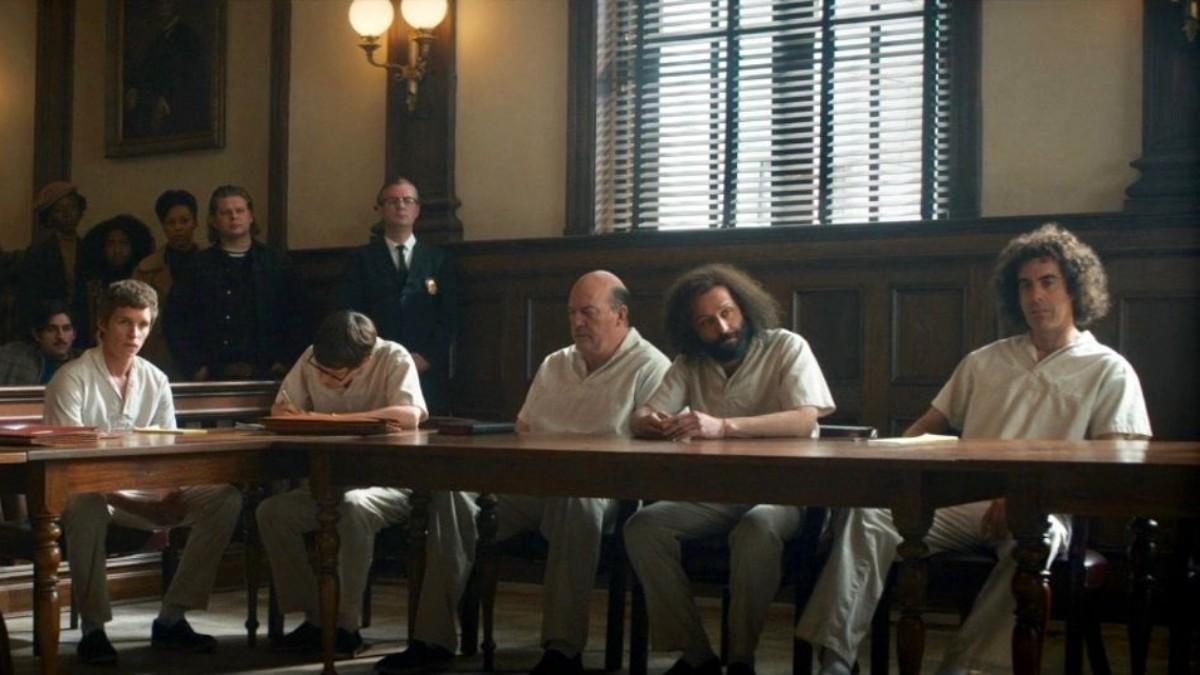 Fotograma de 'El juicio de los 7 de Chicago'.