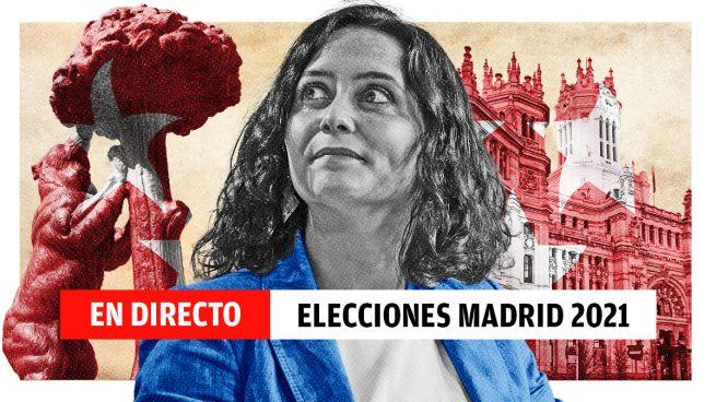 Elecciones en Madrid 2021, en directo: última hora de las encuestas y la campaña de Ayuso, Iglesias, Monasterio y Gabilondo
